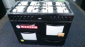 Bush Dual Fuel Range Cooker BLACK