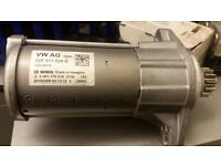 VW Golf R mk7 starter motor from a very low mileage car- 02E911024B