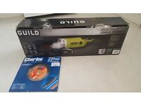 "guild 9"" angle grinder with diamond cut blade"