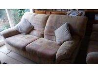 Two very comfortable sofas for free. You would just need to collect.