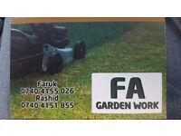Gardning / fencing/ slabing more