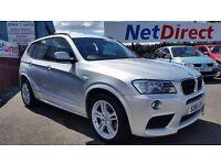 BMW X3 2.0 20d M Sport xDrive 5dr - Low Mileage
