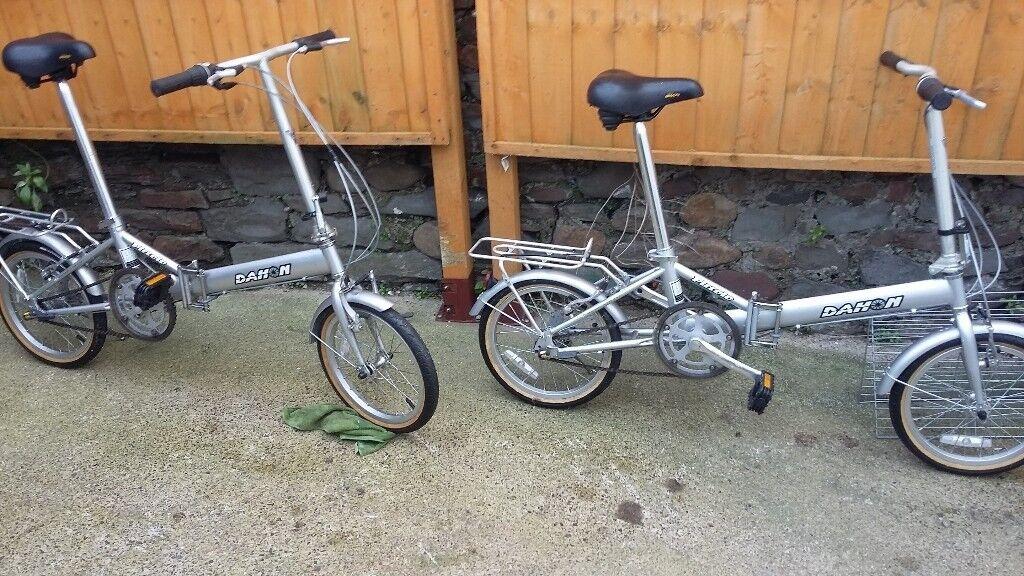 Dahon folding bicycles x2, womens bike mens bike NEVER BEEN USED !! | in  Swansea | Gumtree