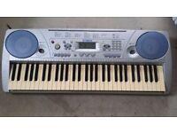 Yamaha Touch Response Piano Keyboard - 61 keys (Works fine )
