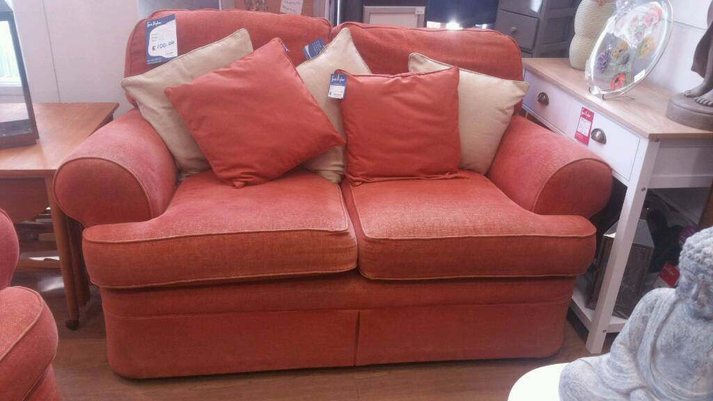 Orange 2 seat sofa in great condition.. | in Stroud, Gloucestershire ...