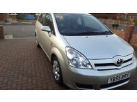 Great Condition 7 Seater Toyota Corolla Verso Diesel 2.0 D-4D-Great Family Car with 127000miles only