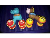 2 Press and Dash toys