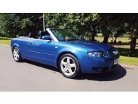 AUDI A4 CABRIOLET 1.8 T 2DR STUNNING SUMMER CAR WITH FULL YEAR MOT & FSH