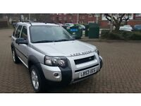 LEFT HAND DRIVE FREELANDER TD4 HSE IN SOUTH EAST LONDON
