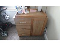 Solid wood nursey furniture