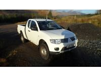 Mitsubishi L200 4Work Club Cab Di-D 4x4 - 1 owner from new - Service History - 50,400 miles CHEAP!