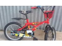 """Pirates 16"""" Boys bike in mint condition. Can be delivered"""