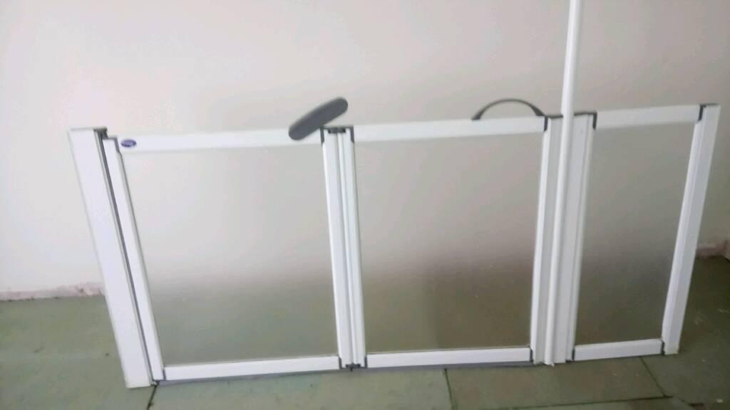 Disabled shower door
