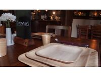 20 Excellent palm leaf disposable tableware for a special Christmas dinner!!!