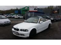 2000 (W reg) BMW 3 Series 2.5 323Ci 2dr Convertible FOR SALE £1,495 MOT TILL 13/05/2019