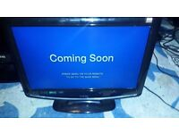 logic 17 inch lcd tv,built in freeview,built in dvd,hdmi,scart,in Torquay!
