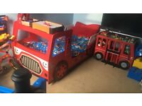 Fire engine bed for free