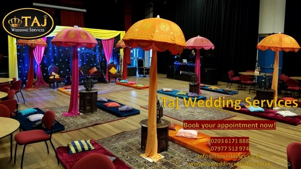asian indian wedding mehndi stages decor marquee tent hire chair