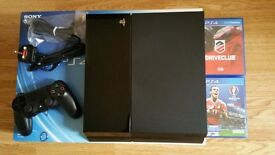 Sony PlayStation PS4 2TB (Boxed with two games) MINT Condition
