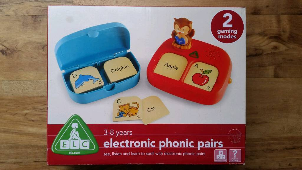 ELC Electronic Phonic Pairs Helps w/Learning to Read