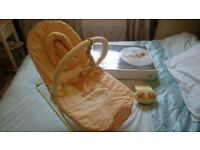 Mamas & Papas baby bouncer activity cradle, boxed