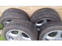 VW Golf OZ Alloys + Good tyres