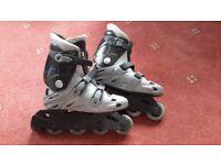 Pair of Inline Skates size 4 (UK)