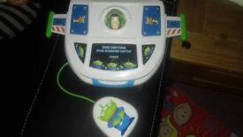 Toy story 3 buzz vtech laptop