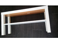 New IKEA Lack TV Bench Table Solid Wood (White) W- 90 cm D- 26 cm H- 45 cm,