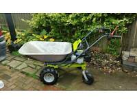 Petrol garden wheelbarrow dumper