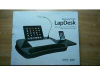 Sofia+Sam Memory foam lap desk USB light