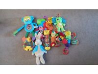 Baby Toy Bundle (including Lamaze) and Playmat, great for Christmas
