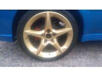 "Vauxhall 18"" penta alloys"