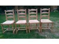 Ash dining/kitchen chairs