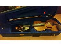 Stentor student Violin 1 4/4 with tuner