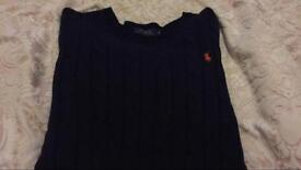 Ralph Lauren cable knit jumper - worn once.