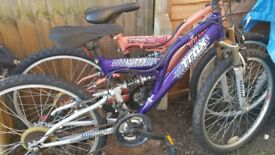 FOR SALE X 2 BIKES IN URGENT NEED OF SOME TLC