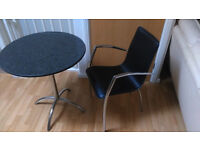 HND Brigitte Granite Dining Table, £450 at John Lewis+ free chair