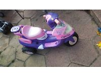 Barbie electric bike