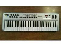 M-Audio Radium midi usb keyboard controller