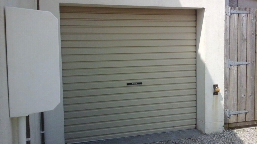 Garage Door Roller Shutter Merlin Door 7ft Wide In Redruth