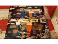 Nerf guns x 2