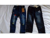 Brand New Girls trendy jeans for sale