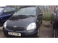 TOYOTA YARIS 2003 BREAKING ALL PARTS ARE AVALABLE
