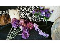 Artificial flowers loads