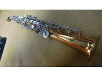 Vintage Earlham Soprano Saxophone