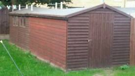 24 by 8 foot shed OFFERS