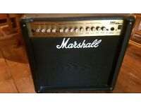 Marshall Guitar Amp MG 50DXF Perfect Condition with footswitch