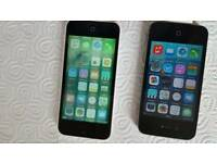 iphone5c 16gb and iphone4s 16gb