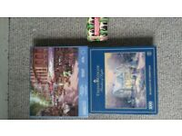 3 jigsaw puzzles, complete
